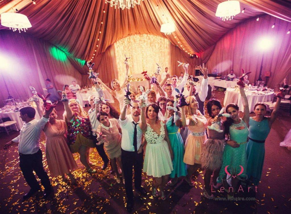 Свадьба от ЛенАрт в шатре